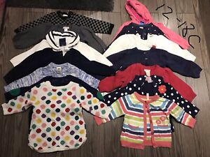 Lots of 12-18 month girl sweaters $40 OBO
