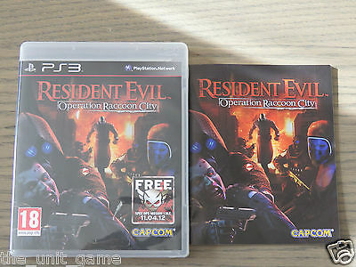 PLAYSTATION 3 PS3   RESIDENT EVIL OPERATION RACCOON CITY    COMPLET EN FRANCAIS