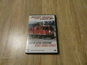 Railway Adventures Across Europe - Secret Summit Express - DVD Ringwood Maroondah Area Preview