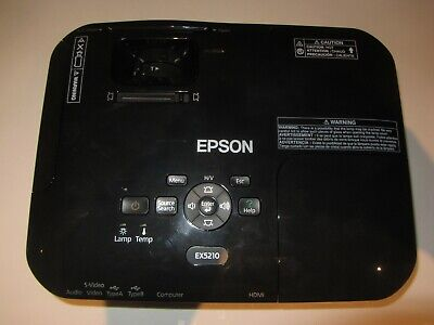 Epson EX5210 H439A Portable XGA 3LCD Projector HDMI  438 lamp hours