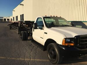 FORD F450 7.3L TRAILER 4 AUTOS