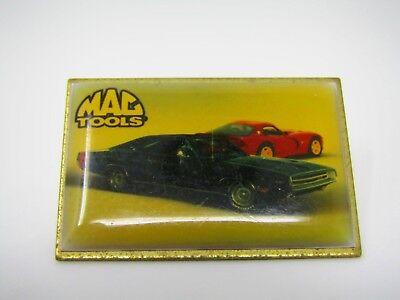 Vintage Sammlerstück Pin: Mac Zubehör Sportwagen Thema Hergestellt in den USA