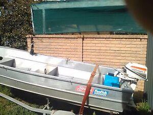 Savage Funfish 3.6m Tinny, Rhino boat racks & LOTS of extras Semaphore Park Charles Sturt Area Preview