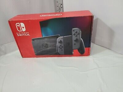 Nintendo Switch Console  Gray Joy‑Con Brand New System Brand New