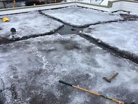 ROOF TOP SNOW REMOVAL, ICE DAM REMOVAL, ICE/SNOW REMOVAL