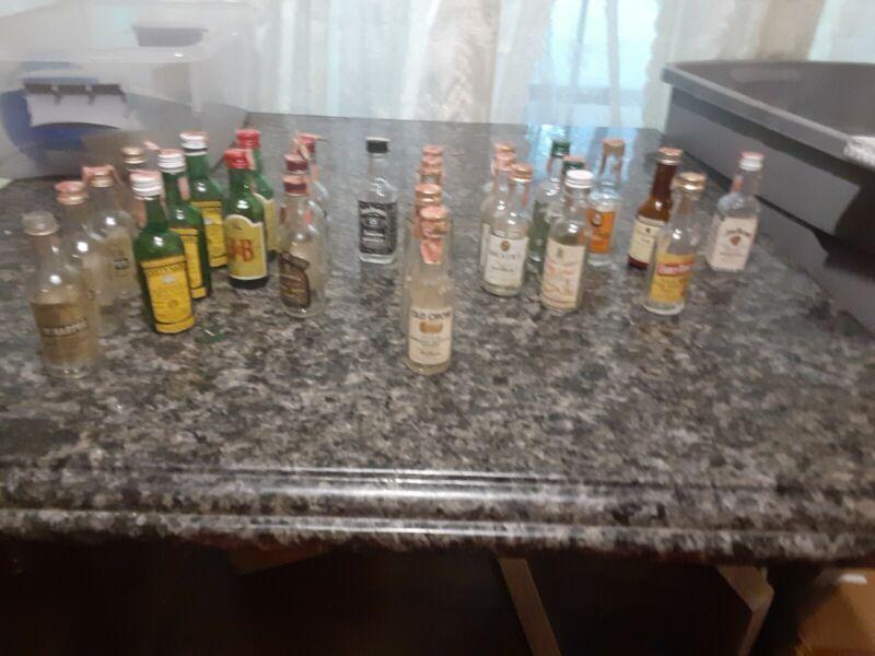 1970s Mini bottles 27 airlines
