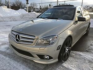2010 Mercedes-Benz C300 low mileage, AMG package