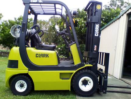 Clark CMP-18L Forklift 2010 – Immaculate, only 628 hours