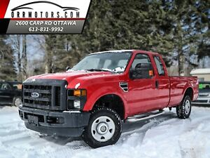 2008 Ford F-250 FX4 SuperCab Long Bed 4X4