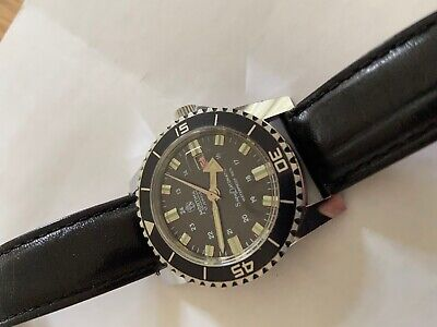 Vintage Diver watch MORTIMA SuperDatomatic 6Atm 100% waterproof French Made RARE