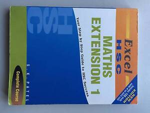 Maths Extension 1 - Excel HSC Shortland Newcastle Area Preview