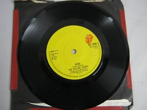 "Vinyl Record 7"" Single THE ROLLING STONES ANGIE (R)"