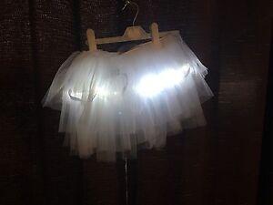 Light up flower girl tutu