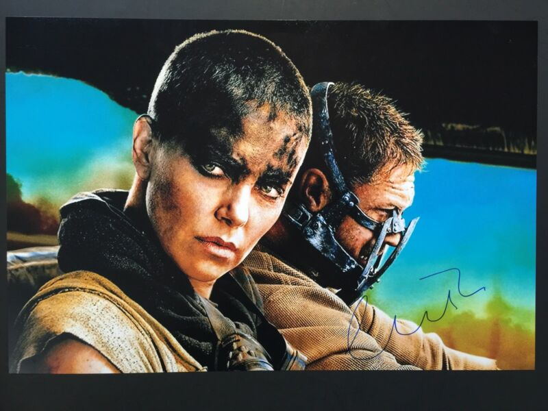 Charlize Theron Autograph JSA 12 x 18 Signed Photo Mad Max