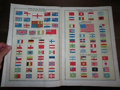1931 PHILIPS INTERNATIONAL ATLAS 160 COLOUR MAPS CHINA RUSSIA INDIA USA IRELAND