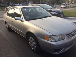 2002 Toyota Corolla for sale - $2000 or best offer