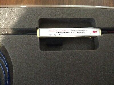 Sumitomo Fiber Optic 10Gbps Intensity Modulator T.MZH1.5-10PD-ADC-S 10 Gbps Fiber Optic