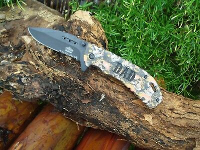 - Engraving Laser *DAD* Knife, Custom Knives, Pocket Knife, Gift Dad, Camo, 030