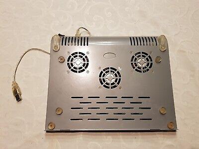 3 Lüfter Kühler Pad (NOTEBOOK KÜHLER PAD  3 LÜFTER ÜBER USB LAPTOP KÜHLUNG)