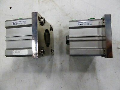 Smc Compact Cylinder Ncq2g50-25d Lot Of 2