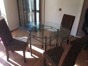 Dining table and four chairs Forster Great Lakes Area Preview