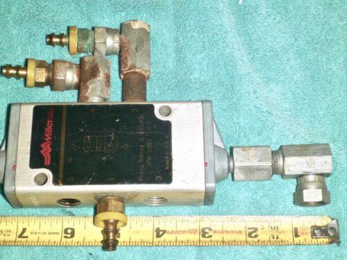 Miller #5252 Pneumatic Control Valve 0-240 PSI
