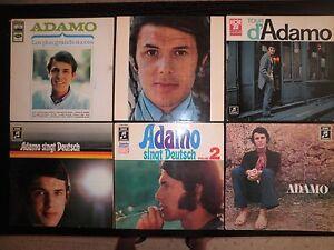 LOTE-6-LP-S-VINILOS-ADAMO-RECORDS-LOT-ORIGINALES
