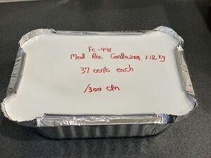 Medium rectangle foil container 1.12 kg Underwood Logan Area Preview