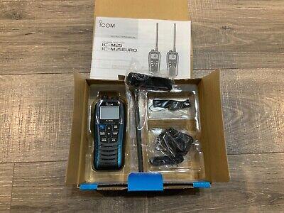 ICOM IC-M25 11 Handheld VHF Radio - Marine Blue