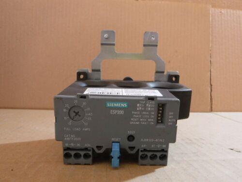 NICE SIEMENS ESP200 OVERLOAD RELAY 48BTH3S00 , 50-200A , 600V