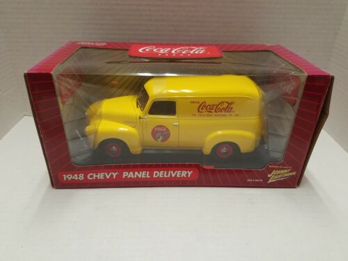 Coca-Cola Johnny Lightning 1948 Chevy Panel Delivery Truck 1/18th Scale NOS