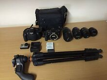 Canon 700d , 400d and go pro hero 3 bundle or seperately Narellan Camden Area Preview