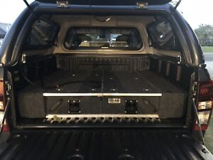 2018 dmax canopy, tub and drawers