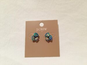 JCrew sparkly cluster earrings (4 pairs)