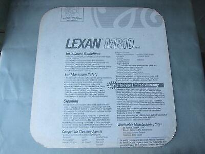 Lexan Mr10 Abrasion Resistant Solar Gray Polycarbonate Sheet 14 X 21 X 19