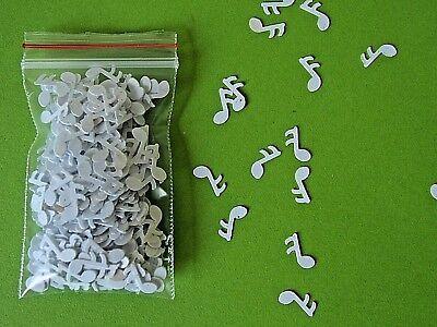 (36,25€/100 g) 4 g Deko-NOTEN WEISS  1 cm x 0,3 cm aus Kunststoff, Tischdeko....