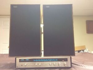 1975 Noresco receiver and  Celestion speakers