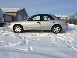 2004 Chevy Cavalier sedan, manual, excellent condition!