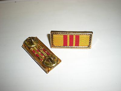 US ARMY VIETNAM PRESIDENTIAL UNIT CITATION RIBBON COMPLETE WITH CLUTCHES