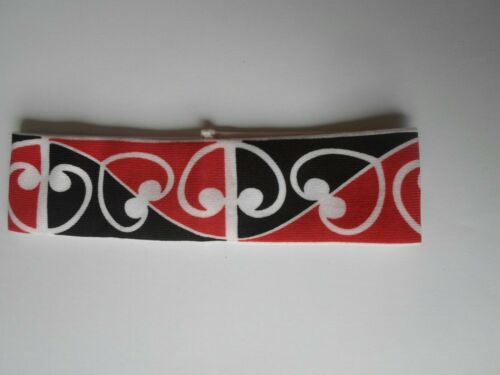 Maori Flag/New Zealand/Maori Headband Maori Design Elastic. Get the best.