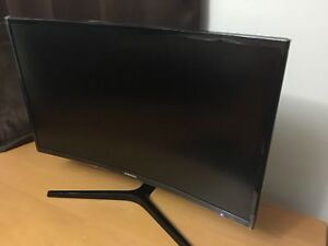 """Curved 27"""" Samsung Monitor"""