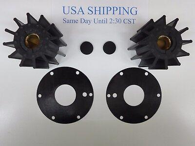 Neoprene Impeller Replaces Jabsco 17370-0001-P Diesel Pair 2 Each
