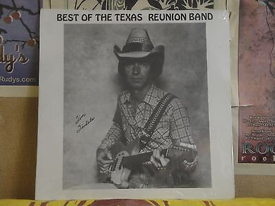 BEST OF THE TEXAS REUNION BAND TIM TISDALE - SEALED PRIVATE PRESS LP (Best Of Texas Band)
