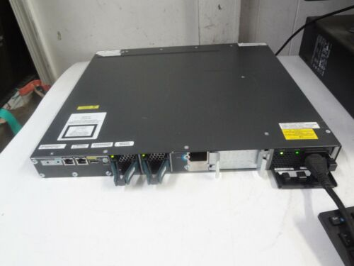 Cisco Catalyst 3560-x Series 24 Port Switch  Ws-c3560x-24t-s W/ Cisco C3kx-nm-1g