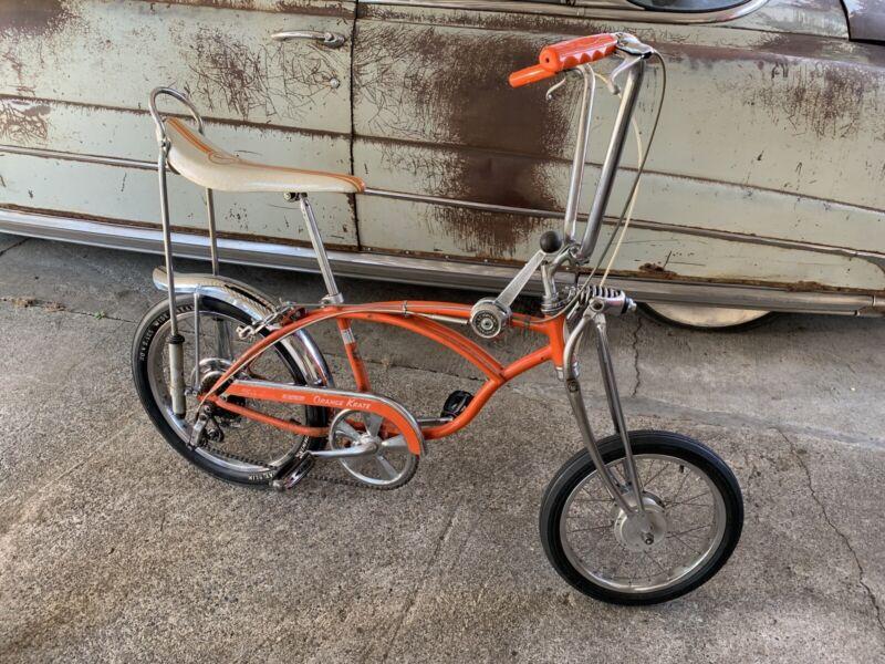 1968 Schwinn Orange Krate Bicycle
