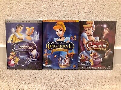 Cinderella 1, Cinderella 2, Cinderella 3 Trilogy Set New Items Free Shipping](Cinderella Items)