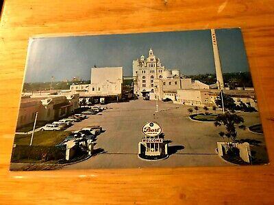 Pearl Brewing Co Beer San Antonio TX St Joseph MO POST CARD