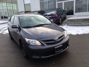 2013 Toyota Corolla L 5-Speed AT