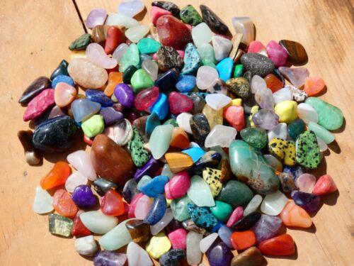Natural TREASURE MIX - 2000 CARAT Lot- Gemstones- Nice Color