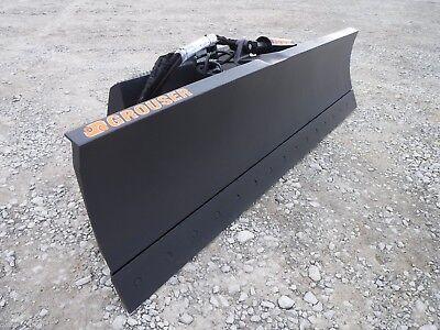 Grouser 1300 96 6-way Dozer Blade Attachment Fits Universal Skid Steer Loader